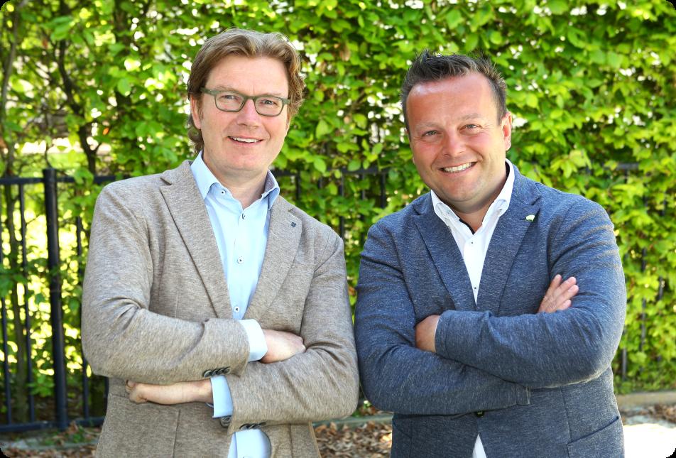 Oprichters Power-ED: Erik van den Oord en Dave van Schaijk